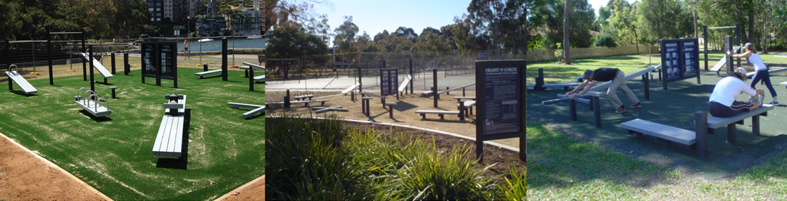 Exercise trail warrandyte