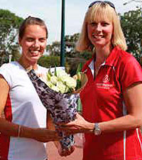 Erika racks up 300 games of netball